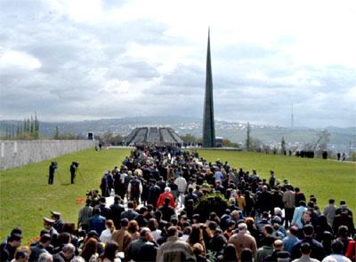 Conmemoracion del 103º aniversarion del Genocidio Armenio.