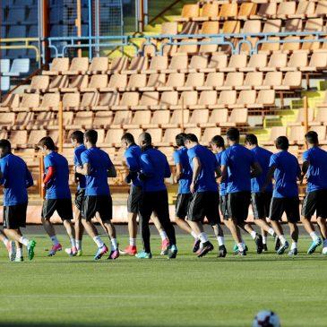 El equipo nacional armenio ocupa el puesto 98 en la clasificación de la FIFA