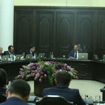 Pashinyan ya conformo su gabinete de ministros.