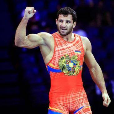 Maksim Hakobyan Campeón de Europa en lucha Grecorromana.