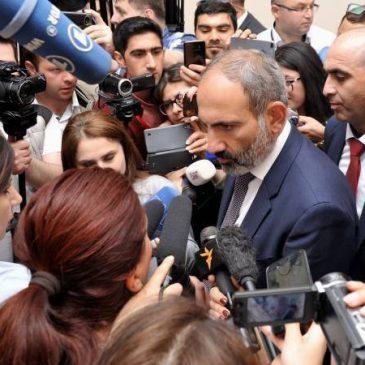 PM Pashinyan :»La celebración de elecciones lo antes posible sigue siendo el objetivo principal del nuevo gabinete de Armenia»