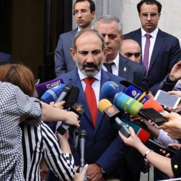PM Pashinyan: «estado de derecho, poder judicial independiente y campo competitivo para el desarrollo económico».