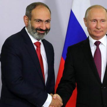 Putin: Rusia considera a Armenia socio clave y aliado en la región