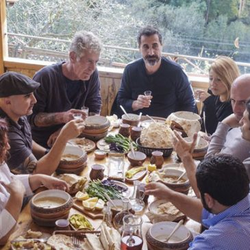 Anthony Bourdain en Armenia, programa de la CNN. (video)