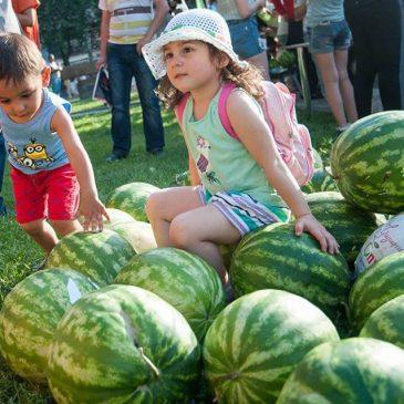 Festival de la sandía en Yerevan.
