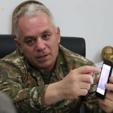 Entrevista al Ministro de Defensa y Comandante del Ejército de Defensa de Artsaj, Levon Mnatsakanyan.