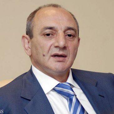 Bako Sahakyan no sera candidato en las próximas elecciones presidenciales en Artsakh.
