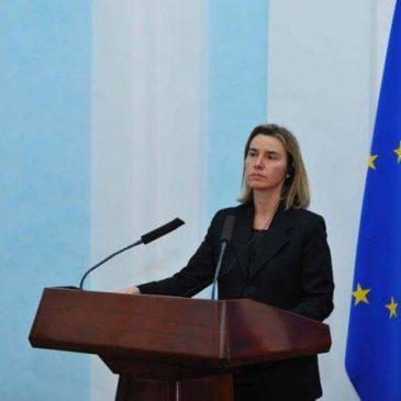 La facilitación de la visa a Europa se está implementando bien, dice Federica Mogherini
