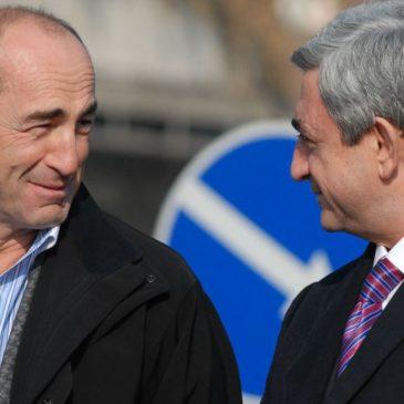 El Partido Republicano y la FRA-Dashnaksutyun rechazan las acusaciones a Robert Kocharian
