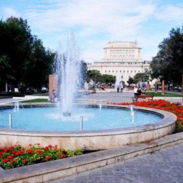 Ola de calor en Yerevan, se espera maximas de 40 grados.
