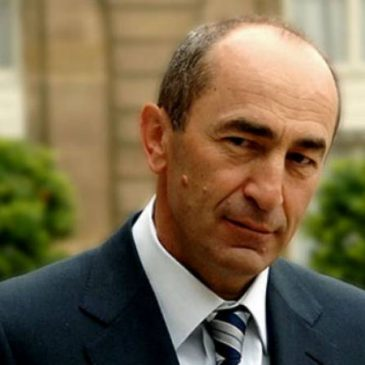 """Inminente pedido de detención: El ex presidente Robert Kocharyan imputado de la causa llamada """"1 de marzo de 2008"""""""