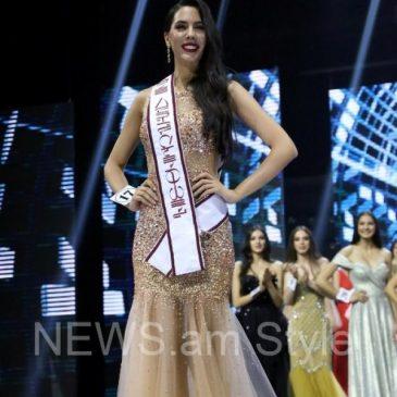 Arena Zeynalyan fue elegida «Miss Armenia 2018»