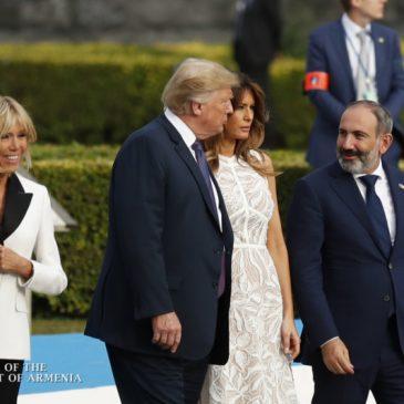 El primer ministro armenio tendrá una reunión introductoria con el presidente de los Estados Unidos, Donald Trump, en Bruselas