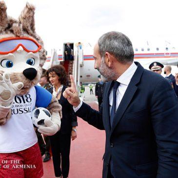 Pashinyan revela cual es su selección de fútbol favorita.