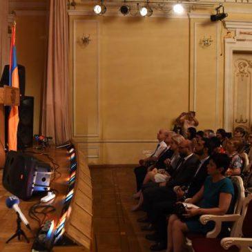 Comenzó la 8ª conferencia educativa pan-armenia que reúne a 120 representantes de 24 países en Armenia