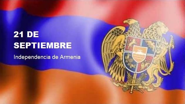 21 DE SEPTIEMBRE 1991 – 2018: ¡ FELIZ 27° ANIVERSARIO DE LA INDEPENDENCIA DE ARMENIA !.