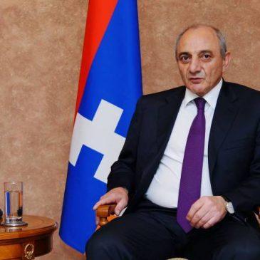 Presidente Sahakyan felicita al pueblo de Artsakh en el Día de la República