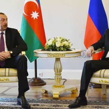 Reunión Putin-Aliyev situación de Artsaj en la agenda.