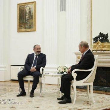Las relaciones armenio-rusas nunca han estado en un nivel tan alto en el pasado – Nikol Pashinyan