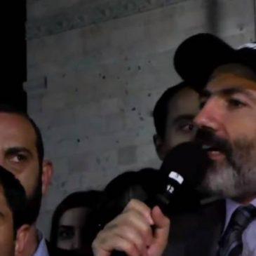 URGENTE: Pashinyan dice estar listo para renunciar al cargo de PM