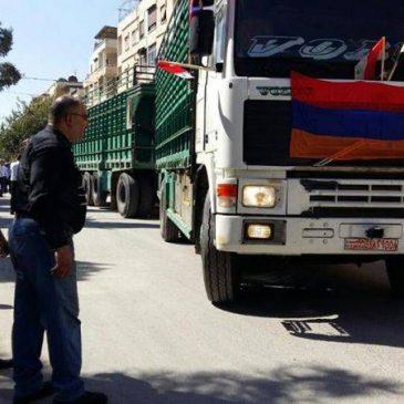 Misión humanitaria del ejercito armenio en Siria está en proceso, dice PM