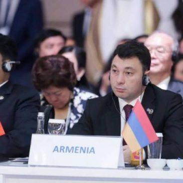 """""""Debe reconocer el ejercicio completo del derecho de autodeterminación del pueblo de Artsaj"""" – Sharmazanov le dice al Presidente del Parlamento de Azerbaiyán en Turquía"""