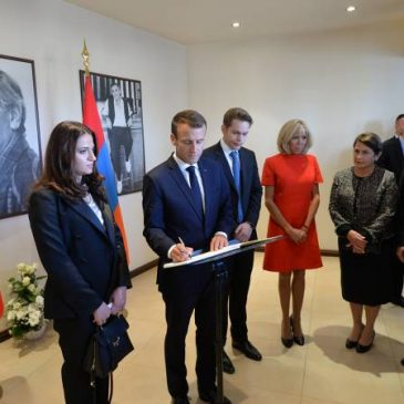 El 24 de abril será recordado en Francia como el Día del Recuerdo del Genocidio Armenio – Emmanuel Macron