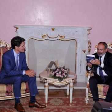 Nikol Pashinyan, Justin Trudeau discuten el desarrollo futuro de las relaciones bilaterales
