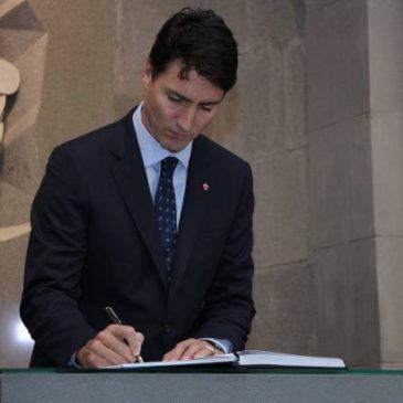 """PM Canada: """"Nuestros pensamientos están con las víctimas del Genocidio Armenio y juramos solemnemente que nunca permitiremos que la historia se repita""""."""