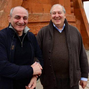 El presidente de Armenia se reunión con su homólogo de Artsaj