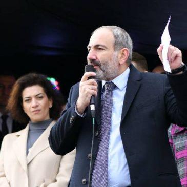 La solución del conflicto de Artsaj depende de lo que el pueblo quiera, la respuesta de Pashinyan al candidato de HHK