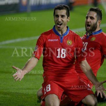 Armenia ocupa el 101 en el ranking mundial de la FIFA