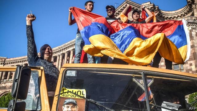 The Economist nombra a Armenia como País del Año