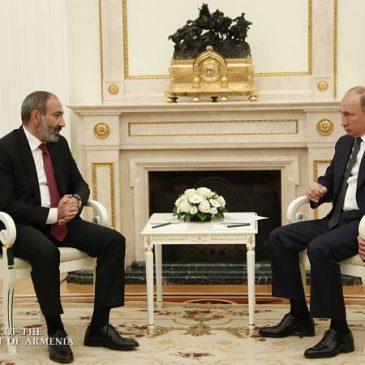 Visita oficial de Pashinyan a Moscú.