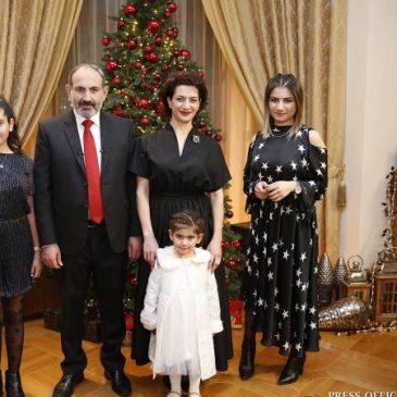 Mensaje de Pashinyan por el Año Nuevo y la Navidad