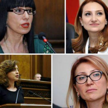 Aumenta el número de mujeres en el nuevo Parlamento de Armenia