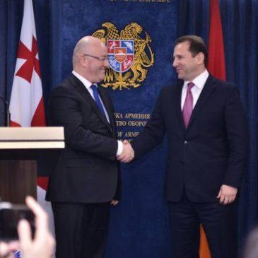 Armenia y Georgia firman programa de cooperación militar 2019
