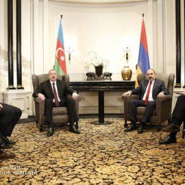 Reunión de Pashinyan-Aliyev en Viena, Austria
