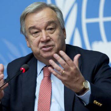 El secretario general de la ONU da la bienvenida a las negociaciones Pashinyan-Aliyev