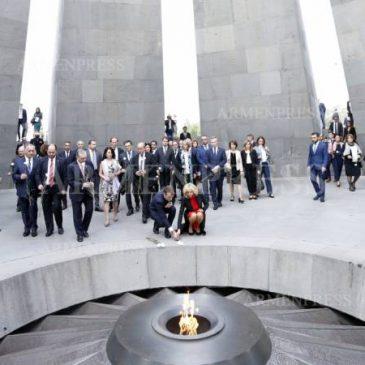 FRANCIA: El presidente Macron declara oficialmente el 24 de abril como fecha de conmemoración anual del Genocidio Armenio