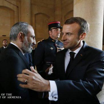 El Primer Ministro Pashinyan envía carta de condolencias al Presidente de Francia