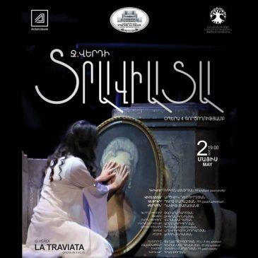 La Traviata se presentará en el teatro de la Ópera de Yereván.