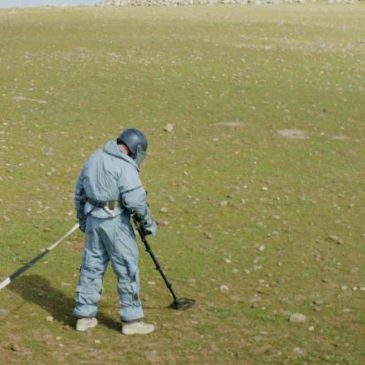 Más de 25,000 metros cuadrados de territorio desminado por especialistas armenios en Siria
