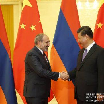 Pashinyan, Xi Jinping encuentro en Beijing