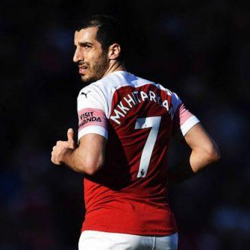 El Arsenal confirma que Henrikh Mkhitaryan no jugará la final en Baku de la Europa League. Su seguridad no está Garantizada.