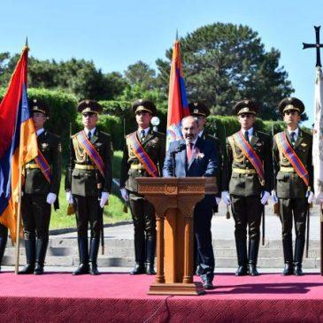 Pashinyan elogia a los estadistas de la Primera República en su poderoso discurso del Día de la República