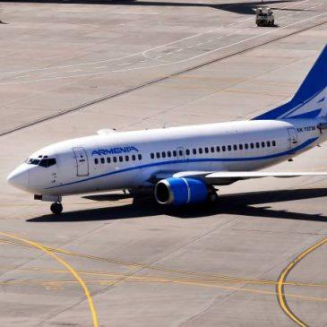 Armenia Airlines obtiene permiso para vuelos regulares Yereván-Moscú-Yereván