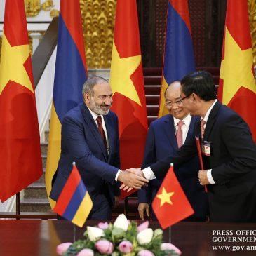 Visita oficial de Pashinyan a Vietnam