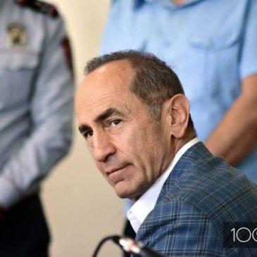 La corte rechaza la moción, Kocharyan permanecerá en prisión preventiva