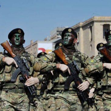 Día del Ejército: Las Fuerzas Armadas de Armenia celebran su 28 aniversario.